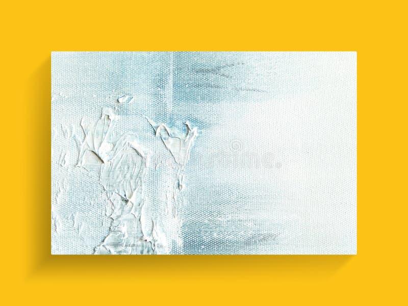 Abstrakcjonistyczna obraz sztuka na brezentowym tekstury tle zamkniętych inżynierii equpments fabryczny wizerunku olej piszczy ra obraz stock