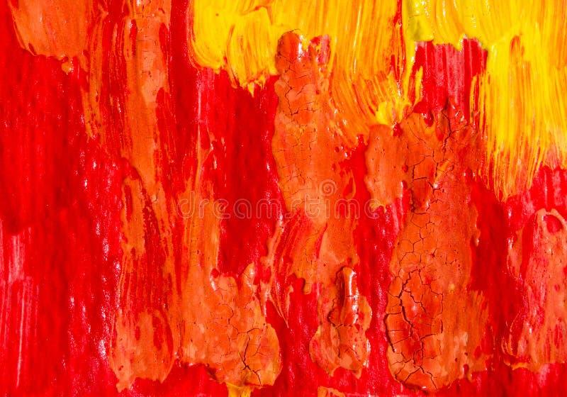 Abstrakcjonistyczna obrazu koloru tekstura Jaskrawy artystyczny zdjęcie stock