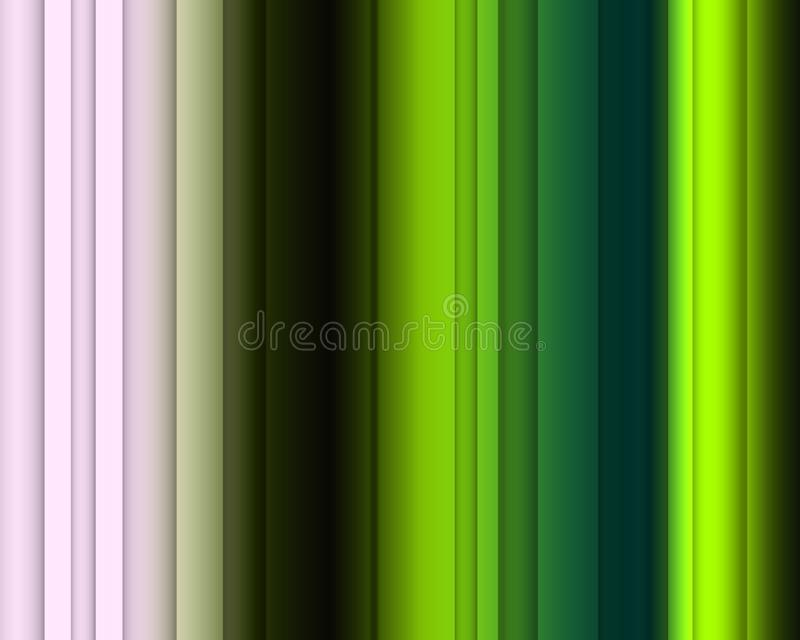 Abstrakcjonistyczna phosphorescent zieleni menchia barwi, linie, iskrzasty tło, grafika, abstrakcjonistyczny tło i tekstura, royalty ilustracja