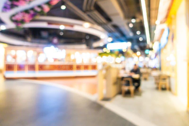 Abstrakcjonistyczna plama i defocused wn?trze dom towarowy centrum handlowego i handlu detalicznego zdjęcia royalty free