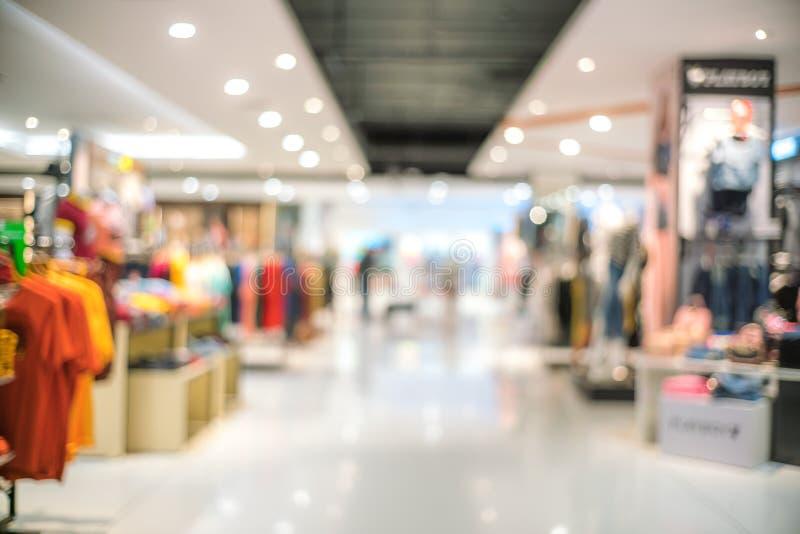 Abstrakcjonistyczna plama piękny ubrania sklep i zakupy centrum handlowe inter zdjęcie royalty free