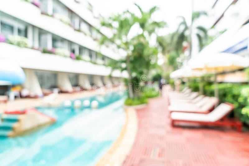 abstrakcjonistyczna plama w hotelowym kurorcie zdjęcie royalty free