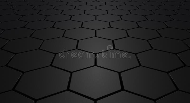 abstrakcjonistyczna podłoga ilustracji