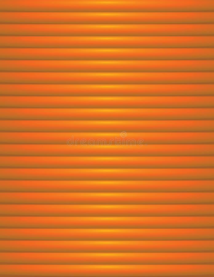 Abstrakcjonistyczna pomarańcze Żebrująca tło ilustracja royalty ilustracja