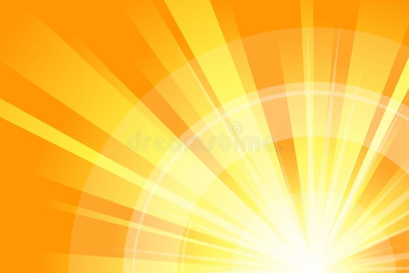 abstrakcjonistyczna pomarańcze ilustracji