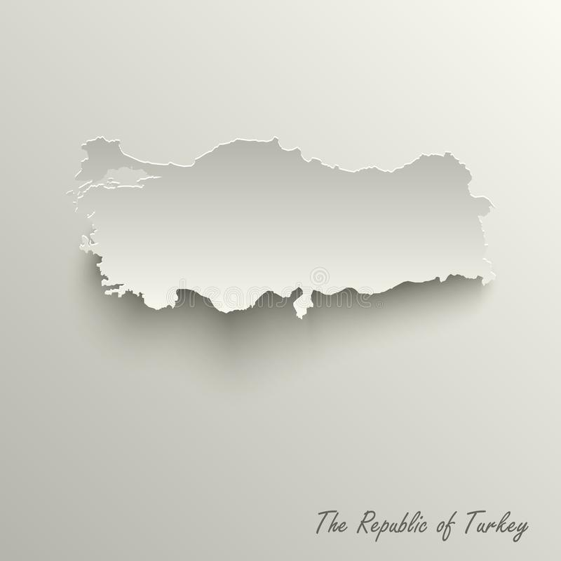 Abstrakcjonistyczna projekt mapa republika Indyczy szablon royalty ilustracja