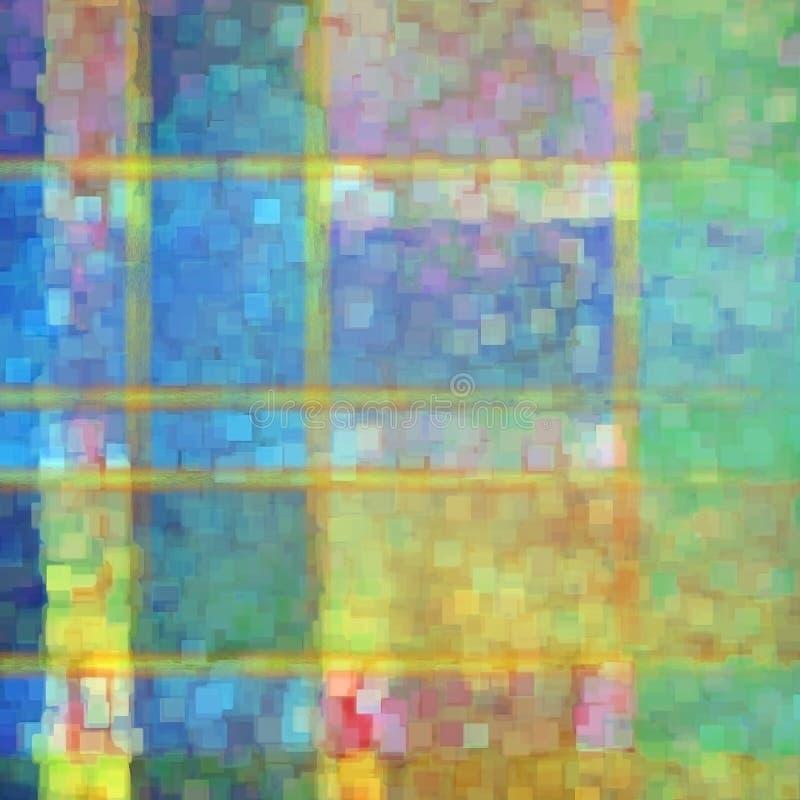 Download Abstrakcjonistyczna Pstrobarwna Powierzchnia Ilustracji - Ilustracja złożonej z narysy, smugi: 41950106
