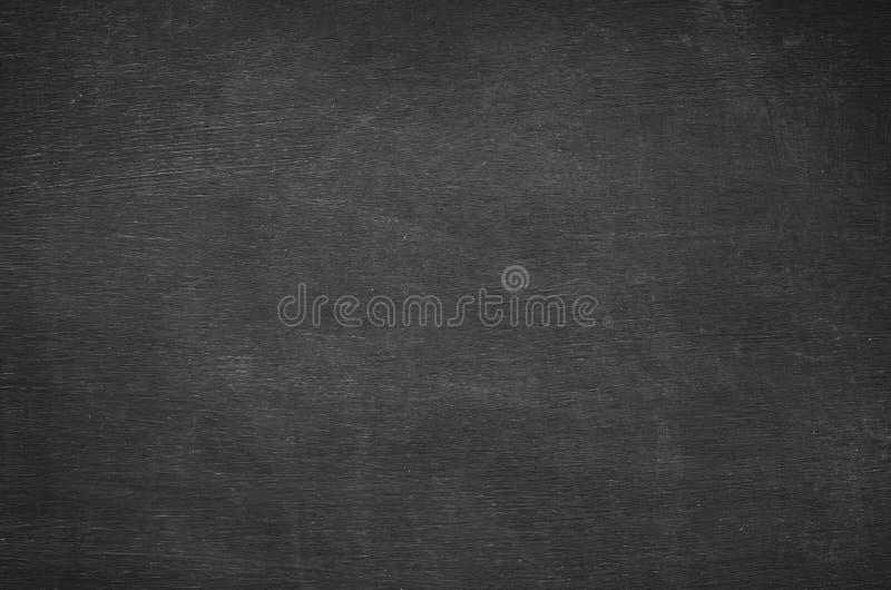 Abstrakcjonistyczna puste miejsce kreda nacierał out na blackboard tle obrazy stock