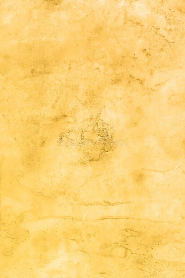 Abstrakcjonistyczna ręka rysujący brown akwareli tło, raster ilustracja zdjęcia royalty free