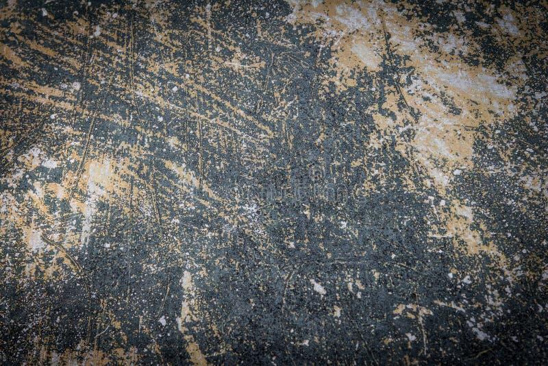 Abstrakcjonistyczna retro koloru brzmienia brudu betonowa ściana obraz royalty free