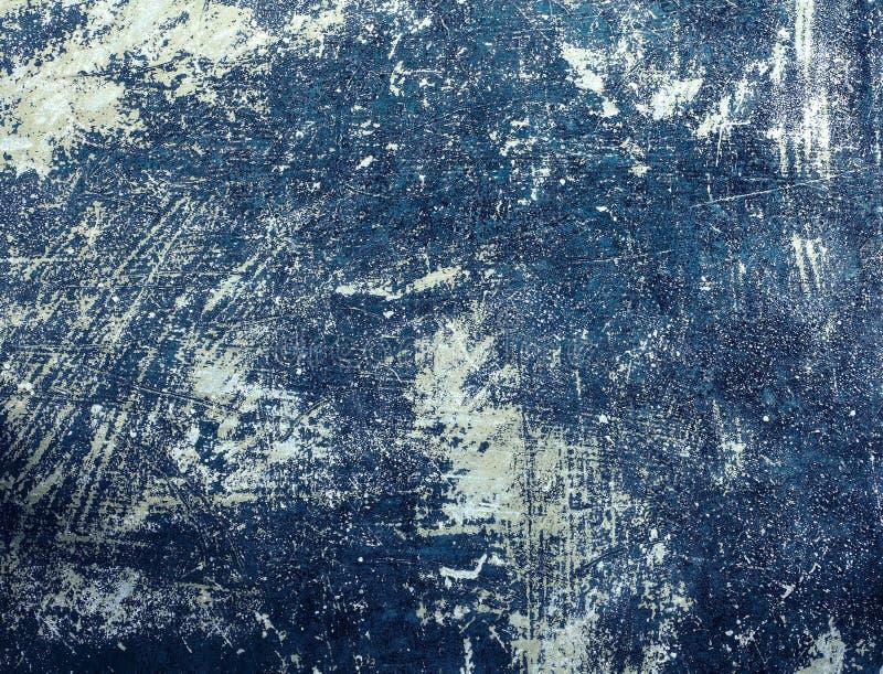 Abstrakcjonistyczna retro koloru brzmienia brudu betonowa ściana zdjęcie royalty free
