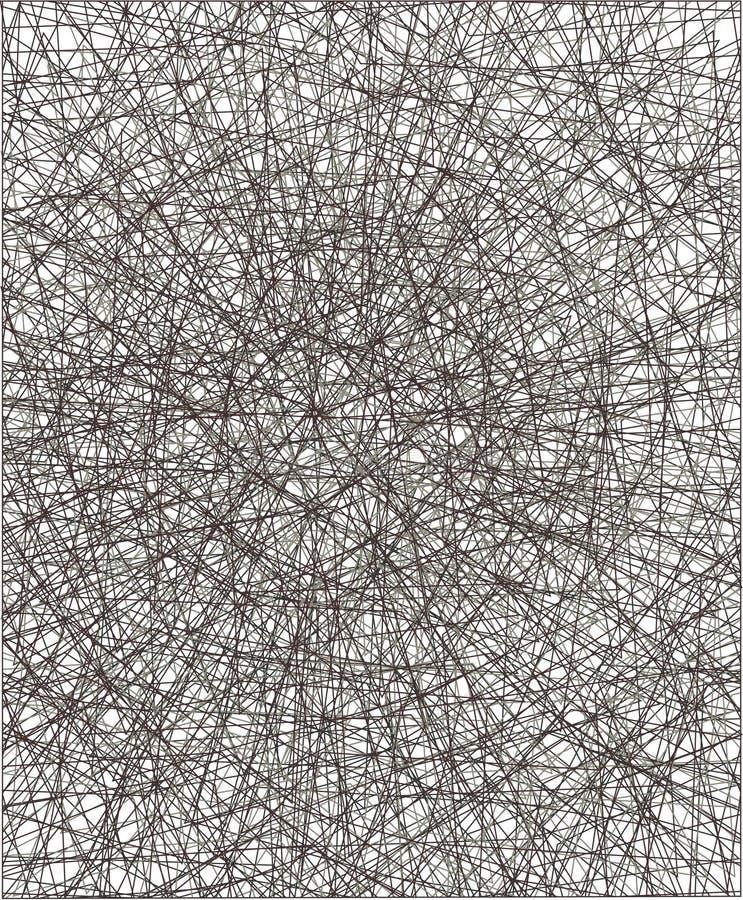 Abstrakcjonistyczna round dekoracyjna siatka ilustracji