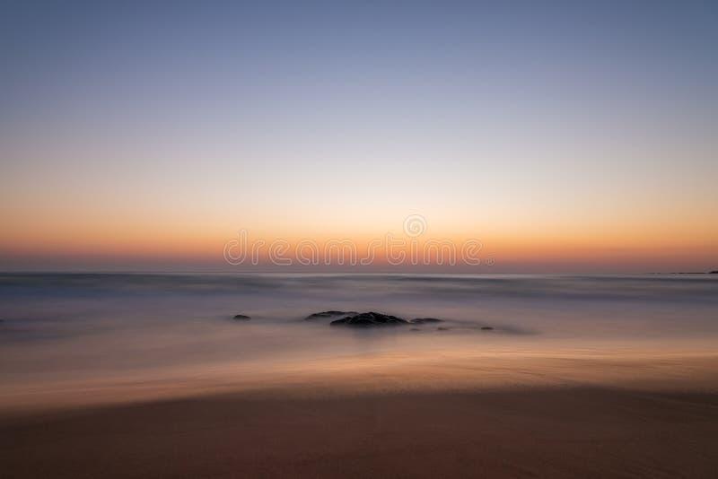 Abstrakcjonistyczna seascape ruchu plama zdjęcia stock