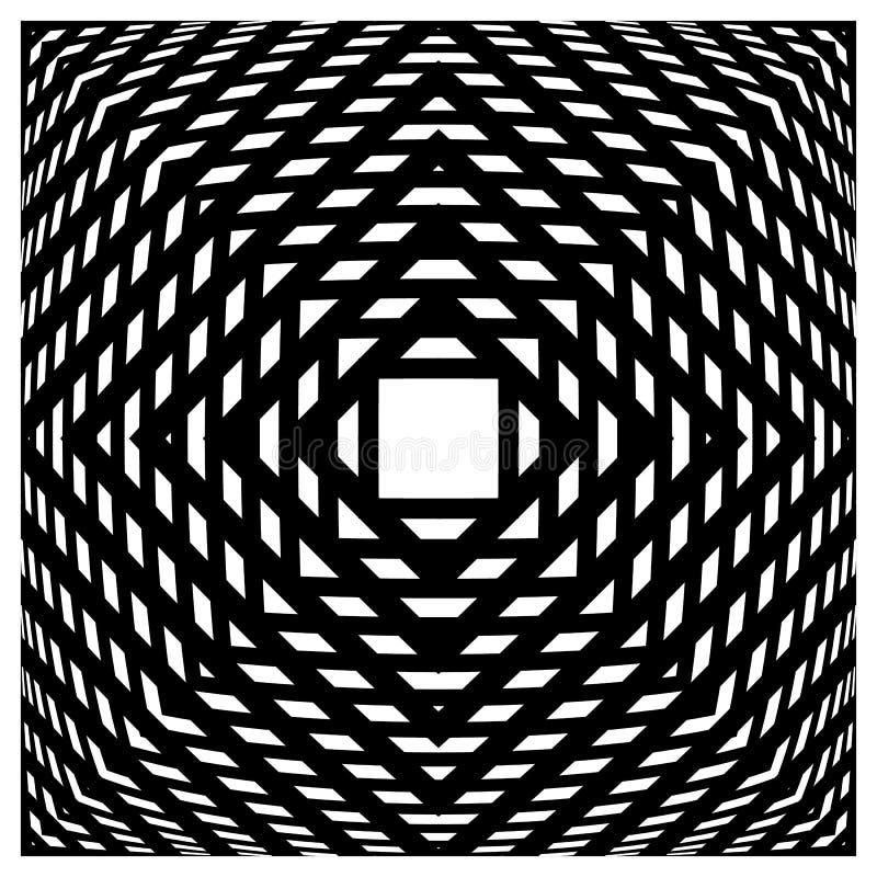 Abstrakcjonistyczna siatka, siatka wzór ilustracja wektor