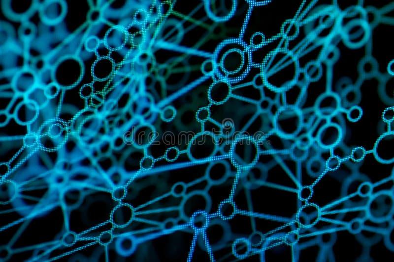 abstrakcjonistyczna sieć obraz stock