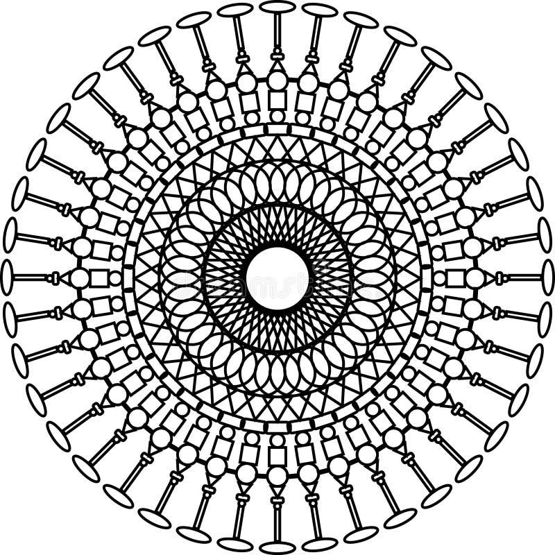 Abstrakcjonistyczna szpaltowa gałka oczna zdjęcie royalty free