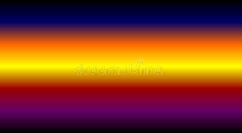 Abstrakcjonistyczna tęcza barwi tło, tapetowa wektorowa ilustracja ilustracja wektor