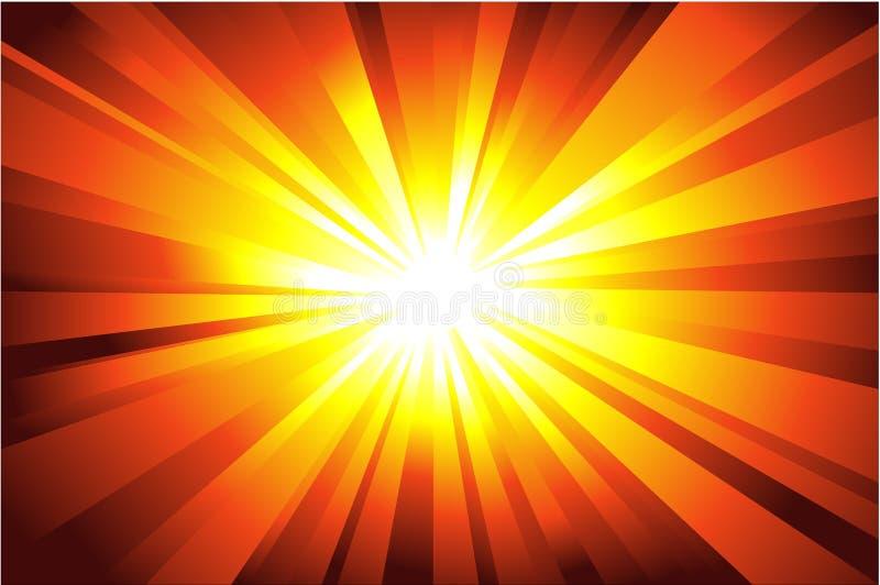 abstrakcjonistyczna tła światła gwiazda ilustracji