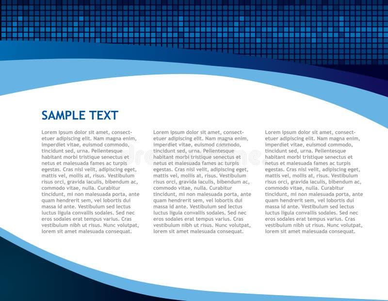 abstrakcjonistyczna tła biznesu technologia ilustracja wektor
