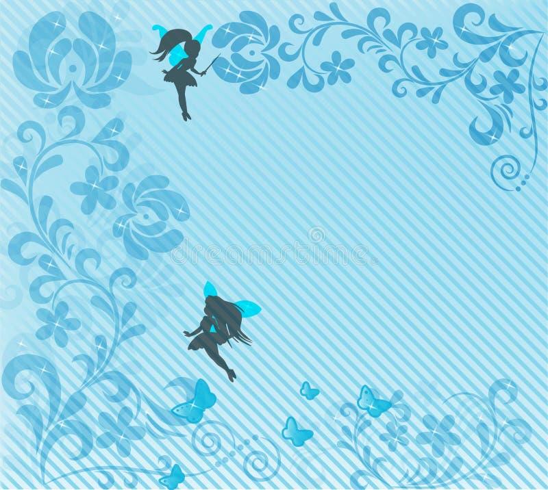 abstrakcjonistyczna tła czarodziejki miękka część ilustracji