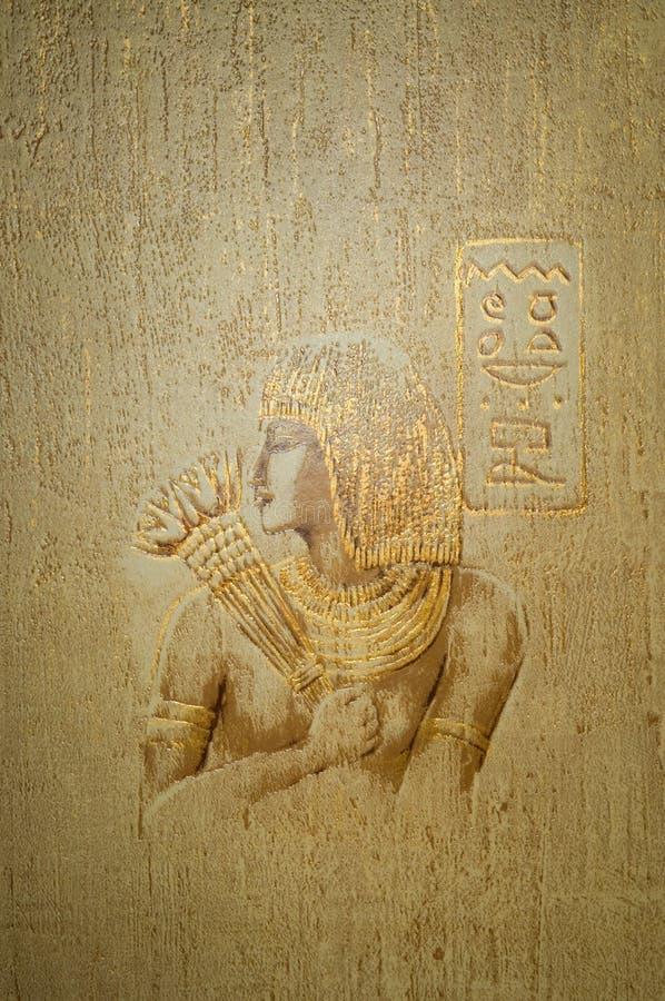 abstrakcjonistyczna tła Egypt stylu tapeta zdjęcia royalty free
