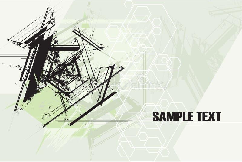abstrakcjonistyczna tła grunge technologia ilustracji