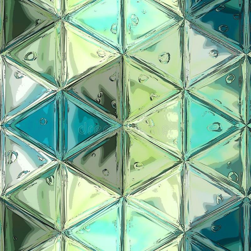 abstrakcjonistyczna tła kolorowa kolorystyki łatwa skutka kartoteka ablegrujący manipulaci wzrokowy deseniowy trójboka wektor royalty ilustracja