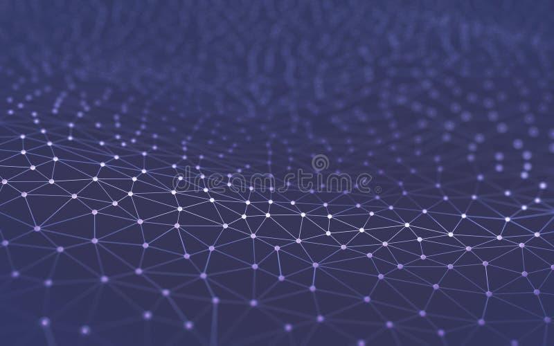 Abstrakcjonistyczna tło nauki technologia zdjęcie royalty free