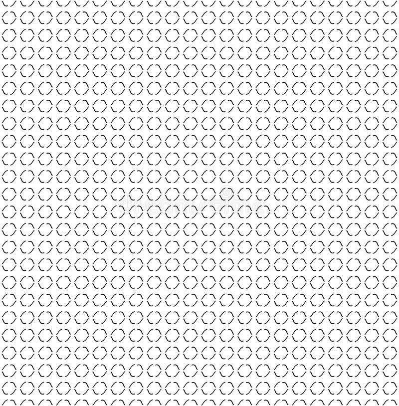 Abstrakcjonistyczna tekstury ręki krzywy linia Bezszwowy tło ilustracja wektor