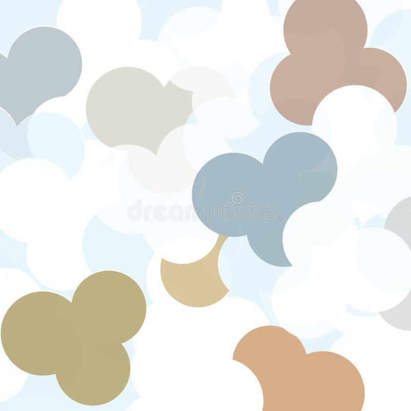 Download Abstrakcjonistyczna Wektorowa Ilustracja Barwiący Okręgi Ilustracji - Ilustracja złożonej z kolorowy, błękitny: 53780735
