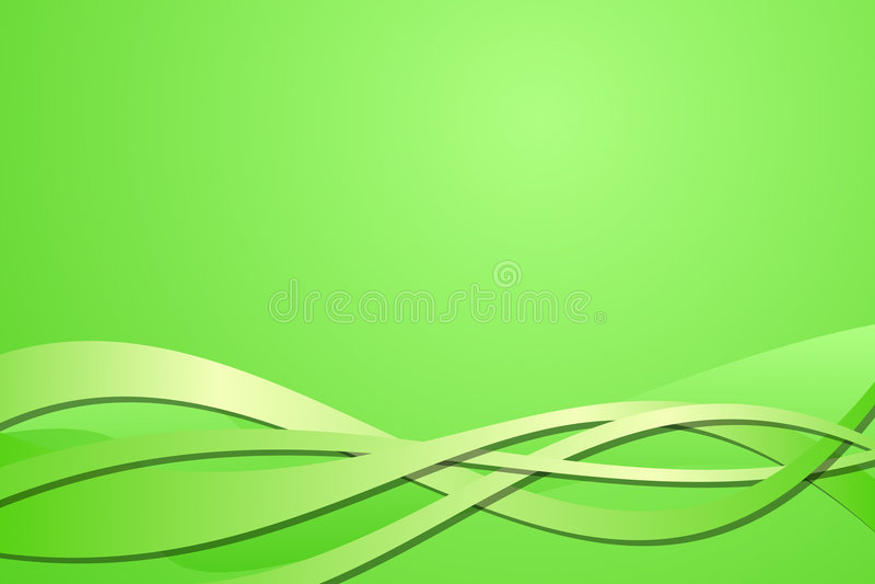 abstrakcjonistyczna zieleń ilustracji