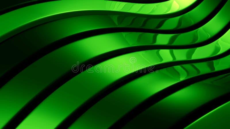 abstrakcjonistyczna zielona ilustracja royalty ilustracja