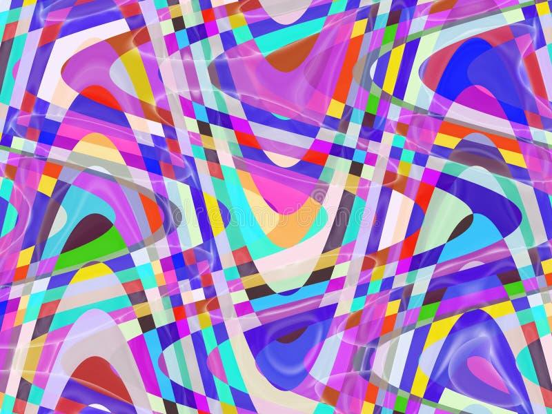 Abstrakcjonistyczne żywe rzadkopłynne figlarnie geometrie, figlarnie geometrii tło, grafika, abstrakcjonistyczny tło i tekstura, ilustracji