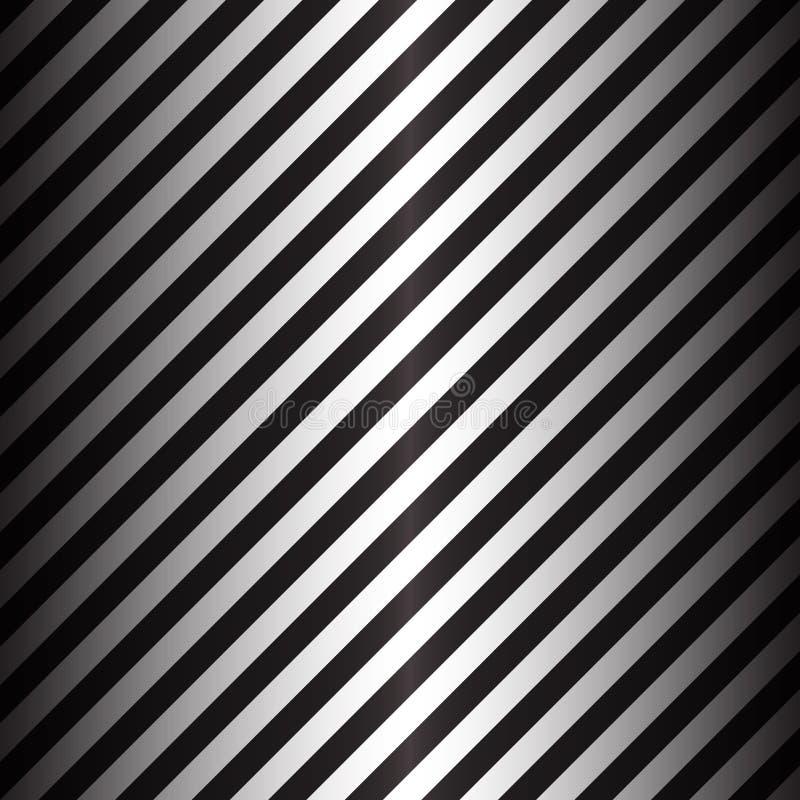Abstrakcjonistyczne geometryczne linie z czarny i biały diagonalnymi lampasami zdjęcia stock