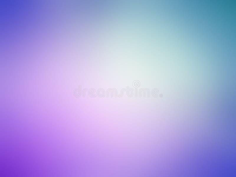Abstrakcjonistyczne gradientowe błękitne purpury barwiący zamazany tło obrazy royalty free