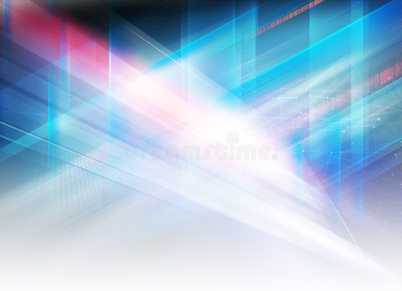 Abstrakcjonistyczne graficzne zaawansowany technicznie futurystyczne projekta pojęcia serie zdjęcia stock