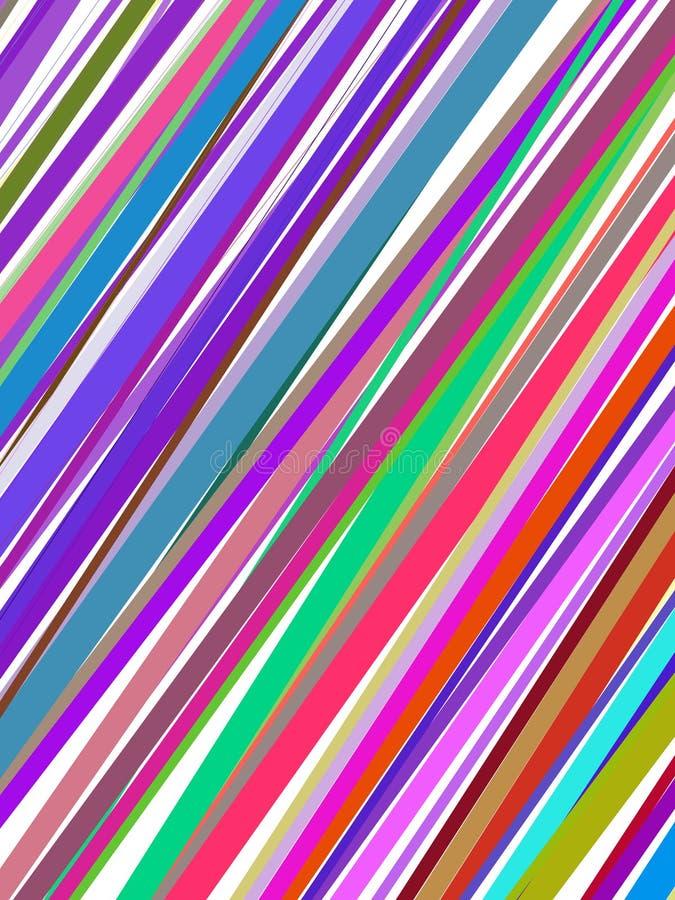 abstrakcjonistyczne kolorowe okładkowe linie ilustracji