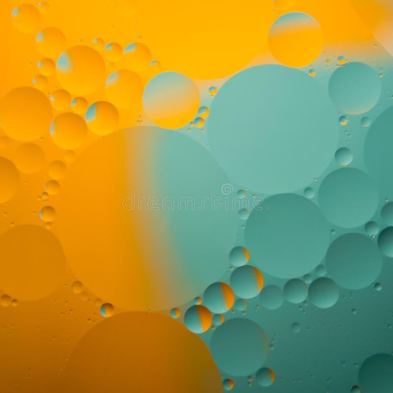 Abstrakcjonistyczne koloru oleju krople royalty ilustracja
