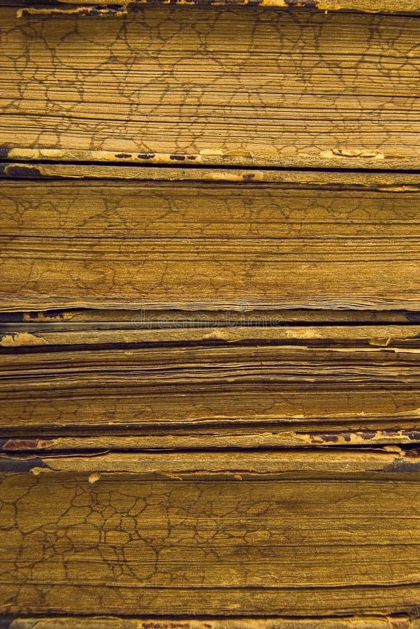 abstrakcjonistyczne książki wyszczególniają starego zdjęcia royalty free