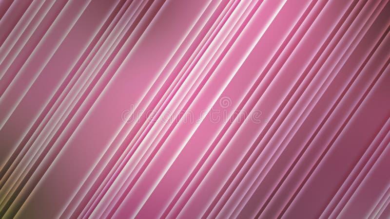 Abstrakcjonistyczne Olśniewające przekątny w Zamazanym Różowym tle zdjęcia stock