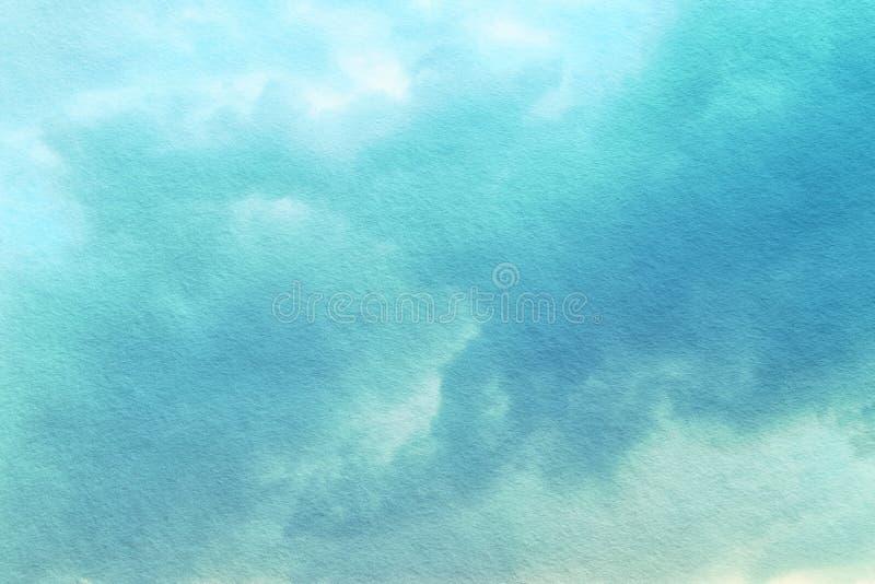 abstrakcjonistyczne pastel chmury, niebo z teksturą i fotografia stock