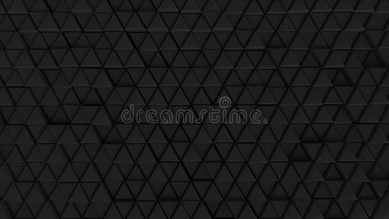 Abstrakcjonistyczne tła tła ściany komórki rozjaśniają kolor grafika czarnego futurystycznego sześciokąt royalty ilustracja