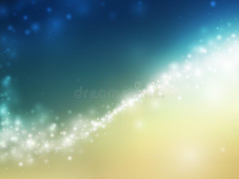 abstrakcjonistyczne tła przestrzeni gwiazdy ilustracji