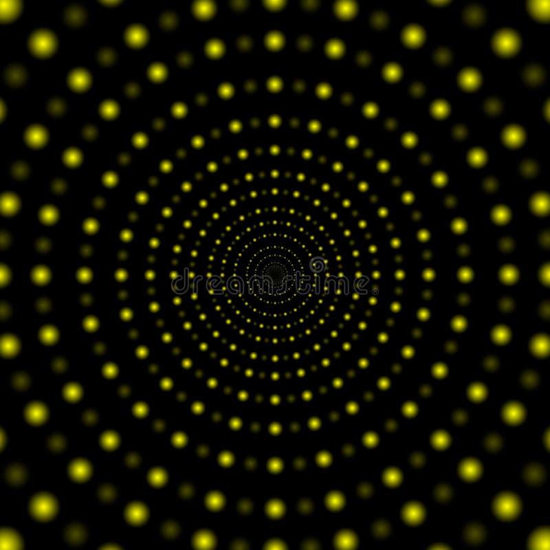 Abstrakcjonistycznego życia nocnego projekta plakatowy szablon, oświetleniowy skutek, wektorowa ilustracja ilustracji