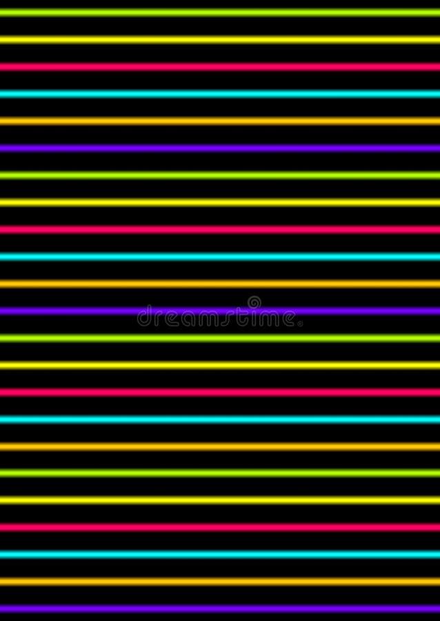 Abstrakcjonistycznego życia nocnego projekta plakatowy szablon, oświetleniowy skutek, wektorowa ilustracja royalty ilustracja