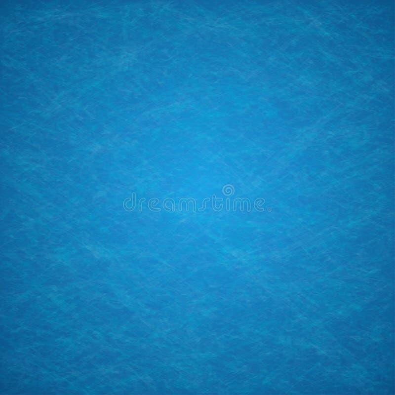 Abstrakcjonistycznego błękitnego tła rocznika elegancki grunge royalty ilustracja