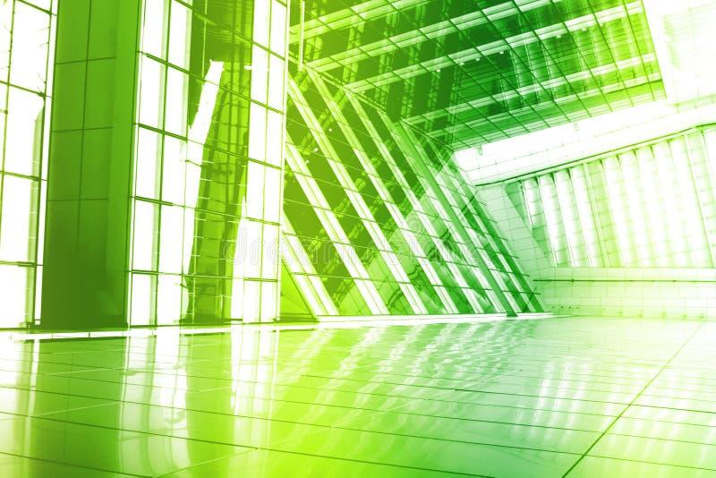abstrakcjonistycznego backgroun kreatywnie zielona modna tapeta ilustracja wektor
