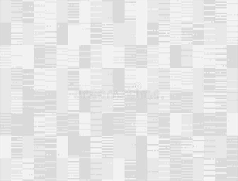 Abstrakcjonistycznego bezszwowego uderzenie piksla spodlony tło royalty ilustracja