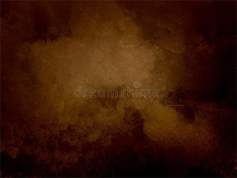 Abstrakcjonistycznego brązu ocieniony textured tło papierowa grunge tła tekstura tło tła broszury brązu projektu batikowego okrąg zdjęcie stock