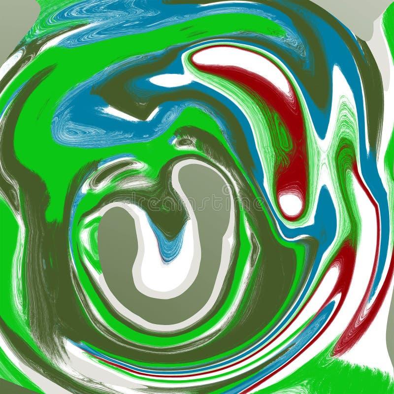 Abstrakcjonistycznego ciecza marmuru ch?odno t?o ilustracja wektor